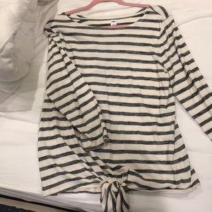 Stripped knot shirt
